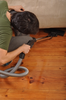 Vacuum cleaning is best done by maid services